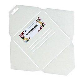 Dutch DooBaDoo sjabloon Kunst voor het ontwerp van vierkante enveloppen
