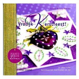 Bücher und CD / Magazines Libro con 25 tarjetas de Navidad con los granos en 3D