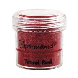 FARBE / STEMPELINK Embossing Powder (28g) - Tinsel Red