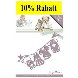AMY DESIGN AMY DESIGN, stempling skabeloner: baby samling