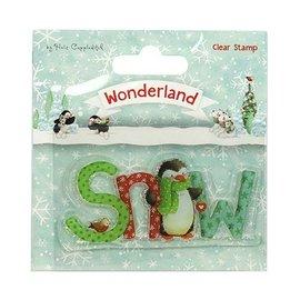 Stempel / Stamp: Transparent Gennemsigtig / Clear Stamp: Wonderland