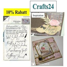 Stempel / Stamp: Transparent Limpar Stamp / Transparente: Provérbios alemão