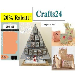CUTIES Punching and embossing template: Gift Bag