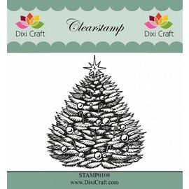 Stempel / Stamp: Transparent selos transparentes: Árvore de Natal