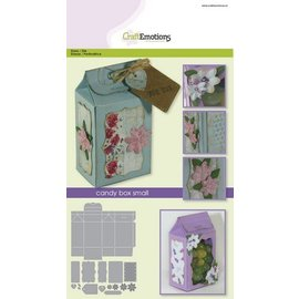 Stanzschablone: Geschenk Schachtel