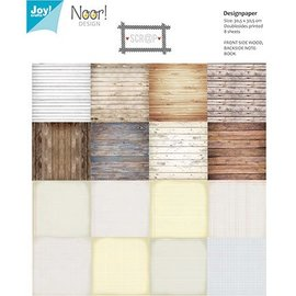 Joy!Crafts / Hobby Solutions Dies Designerblock, 30,5 x 30,5cm, Holzmotiven