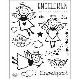 Stempel / Stamp: Transparent Stamp transparente: Anjo
