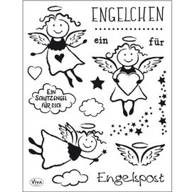 Stempel / Stamp: Transparent Transparant Stempel: Angel
