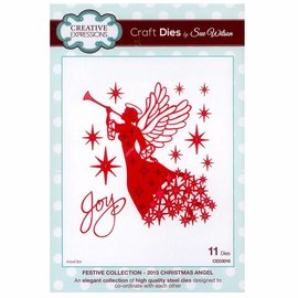 CREATIVE EXPRESSIONS und COUTURE CREATIONS Découpage et gaufrage mourir: Angel