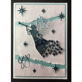 CREATIVE EXPRESSIONS und COUTURE CREATIONS Cutting en embossing Sjabloon: Angel