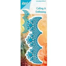 Joy!Crafts / Hobby Solutions Dies Corte e Embossing morrem: Fronteira de flores