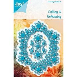 Joy!Crafts / Hobby Solutions Dies Stanzschablonen: Filigrane Blumen Zierrahmen