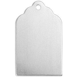 Embellishments / Verzierungen NOUVEAU chez nous! 10 pendentif en métal: plaque métallique Mini avec une boucle pour accrocher - peut être traité avec un outil de gaufrage.