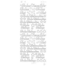Sticker Klistermærker, tysk tekst: Godt Nytår