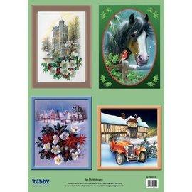 cenas e motivos Stanzbogenset Natal 3D