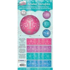 BANDEROLEN, Schrumpffolien 4 krimpmof voor ballen met een diameter van 8cm