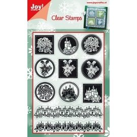 Stempel / Stamp: Transparent Motif de timbre transparent, motif de Noël