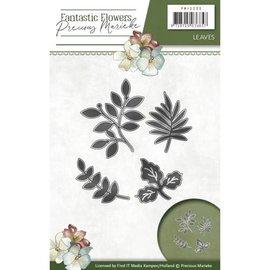 Precious Marieke aparas de corte e estampagem: folhas