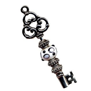 Embellishments / Verzierungen Verzierungen / Embellishments: 1 Vintage Schlüssel, Format: 7,5 cm