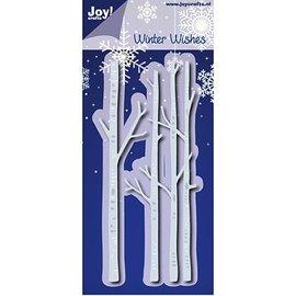 Joy!Crafts / Hobby Solutions Dies Taglio e goffratura muoiono: Winter Wishes - Birche