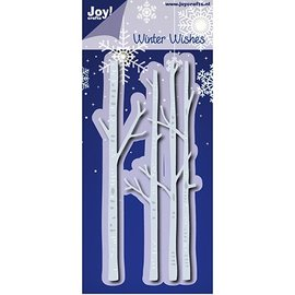 Joy!Crafts / Jeanine´s Art, Hobby Solutions Dies /  Stanzschablonen: Winter Wishes, Birkenstamm