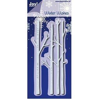 Joy!Crafts / Hobby Solutions Dies Stanzschablonen: Winter Wishes, Birkenstamm