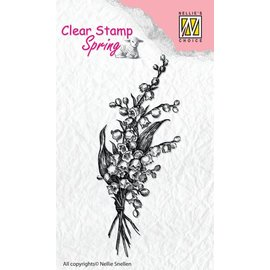 Nellie Snellen Trasparente / Clear Stamp: Primavera Bouquet