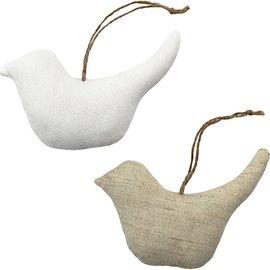 BASTELSETS / CRAFT KITS Tekstilvarer tal, størrelse 13x7,5 cm, tykkelse: 3 cm, fugle