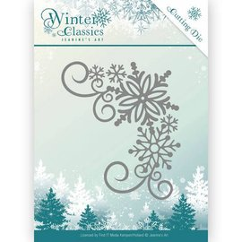 JEANINES ART (NEU) cutting and embossing die: Winter Classics - Winter Corner