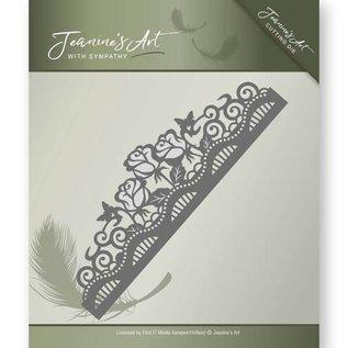 JEANINES ART (NEU) Stanz- und Prägeschablonen: Rose