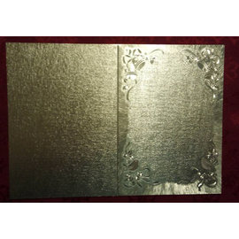 KARTEN und Zubehör / Cards carte doppie a grande effetto metallizzato