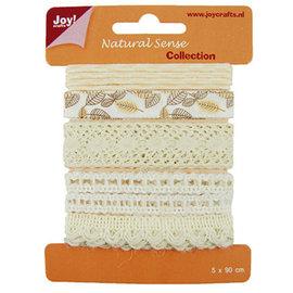Joy!Crafts / Hobby Solutions Dies Rubans sens naturel, rubans set 1