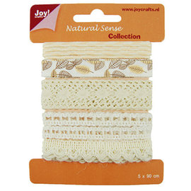 Joy!Crafts / Jeanine´s Art, Hobby Solutions Dies /  Ribbons Natural scythe, Ribbons set 1