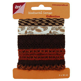 Joy!Crafts / Jeanine´s Art, Hobby Solutions Dies /  Ribbons natural scythe, ribbons set