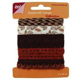 Joy!Crafts / Jeanine´s Art, Hobby Solutions Dies /  Rubans sens naturel, rubans ensemble