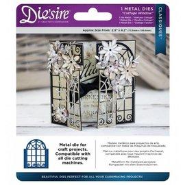Die'sire Stanz- und Prägeschablone: Cottage Window