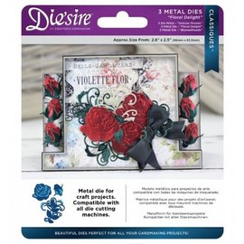 Die'sire Punching and embossing template: Floral Delight