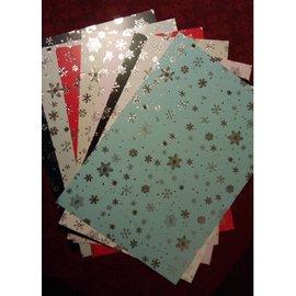 Karten und Scrapbooking Papier, Papier blöcke Carton sortiment julen