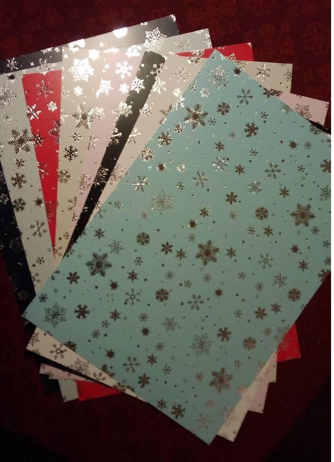 Karten und Scrapbooking Papier, Papier blöcke Kartonsortiment ...