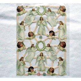 Bilder, 3D Bilder und ausgestanzte Teile usw... Recortes com 16 anjos