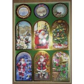 Sticker Klistremerke ark med flotte julebilder!