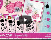 Layered stamp: layer over layer stamping