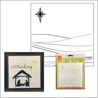 Marianne Design Embossing Folder, Winterlandschaft