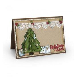 Sizzix Kerstboom Flip & Fold