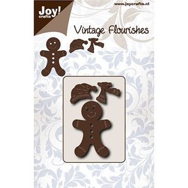 Joy!Crafts / Hobby Solutions Dies Punching templates: Gingerbread male