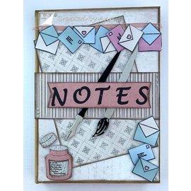 Joy!Crafts / Hobby Solutions Dies Corte morre: escova, caneta, envelopes e carta