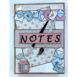 Joy!Crafts / Hobby Solutions Dies Fustelle: pennello, penna, buste e lettere