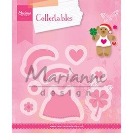 Marianne Design stampi di taglio: Accessoiries Orso