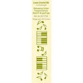 Leane Creatief - Lea'bilities Embossing Folder, size 24 x 122 cm