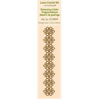 Leane Creatief - Lea'bilities Goffratura cartella, dimensioni 24 x 122 cm
